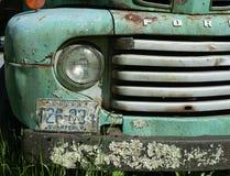 Vieux prenez le camion Image stock