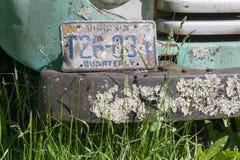 Vieux prenez le camion Photographie stock