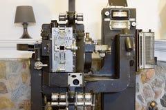 Vieux projecteur de film Photographie stock
