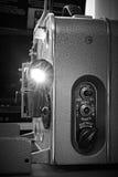 Vieux projecteur de film russe de vintage Photo libre de droits