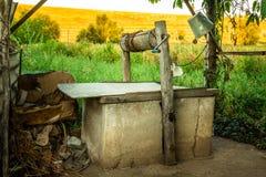 Vieux puits Image stock