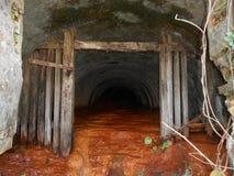 Vieux puits de mine Photos libres de droits