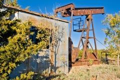 vieux puits du pétrole 6468 Photo libre de droits
