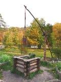 Vieux puits en bois Photo libre de droits