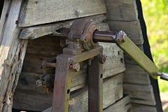 Vieux puits ukrainien de ressortissant Image libre de droits