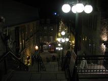 Vieux-Québec, Rue du Petit Champlain.  Royalty Free Stock Photo