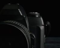 Vieux réflexe 35mm d'appareil-photo photo libre de droits