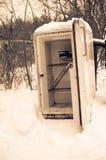 Vieux réfrigérateur Images stock