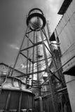 Vieux réservoir d'eau Images libres de droits