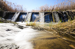 Vieux réservoir d'eau image stock