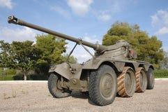 Vieux réservoir militaire Images libres de droits