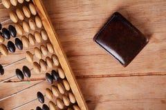 Vieux rétro abaque Image stock