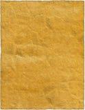 Vieux rétro papier déchiré d'isolement par cru Photos stock