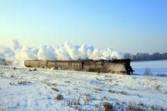 Vieux rétro train de vapeur images stock