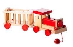 Vieux rétro train en bois génial photos libres de droits