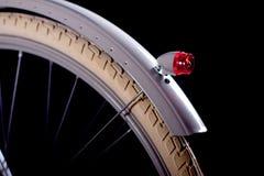 Vieux rétro vélo refourbi - détails Photographie stock libre de droits