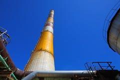 Vieux ralenti d'usine pendant une crise économique Photographie stock