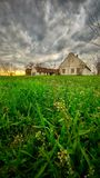 Vieux ranch d'Abandone Images stock