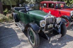 Vieux rassemblement de voitures de minuterie image libre de droits