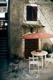 Vieux recoin méditerranéen photos libres de droits