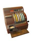 vieux registre d'argent comptant Photographie stock