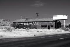 Vieux restaurant Image libre de droits