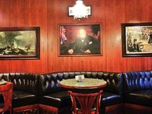 Vieux restaurant dans Marienbad image stock