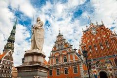 Vieux Riga, Lettonie Images libres de droits