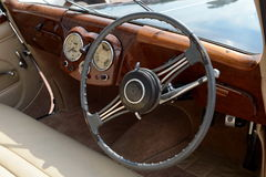 Vieux roadster 1800 anglais de Triumph de voiture image libre de droits