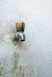 Vieux robinet Image libre de droits