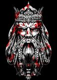 vieux roi de sang illustration de vecteur