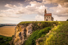 Vieux Roman Church dans Drazovce, Slovaquie Photo stock