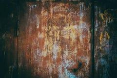 Vieux rouillé galvanisé image libre de droits