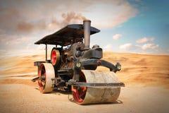 Vieux rouleau de vapeur photos libres de droits