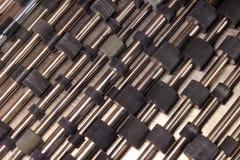Vieux rouleaux en caoutchouc des imprimantes à laser et des copieurs image libre de droits