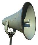Vieux rétro haut-parleur de vintage d'isolement Images libres de droits
