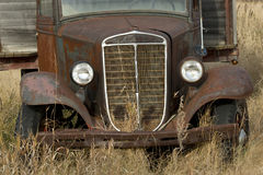 Vieux Rusty Grain Truck Images libres de droits
