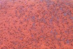 Vieux Rusty Metal Texture superficiel par les agents rougeâtre photo stock