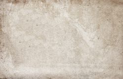 Vieux sable usé - papier coloré avec une surface sale photos libres de droits