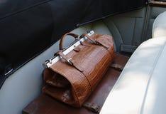 Vieux sac Photos stock