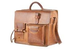 Vieux sac d'épaule de Brown Photos libres de droits