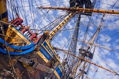 Vieux sailship Images libres de droits