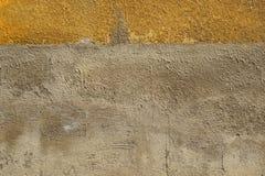Vieux, sale mur peint sale de plâtre photographie stock