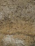 Vieux, sale mur peint sale de plâtre photographie stock libre de droits
