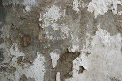 Vieux, sale mur peint sale de plâtre Photos stock
