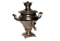 Vieux samovar de Russe de vintage Images stock