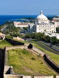 Vieux San Juan Image stock