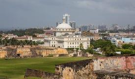 Vieux San Juan de négligence Photos libres de droits