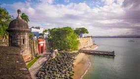 Vieux San Juan, Porto Rico banque de vidéos