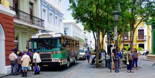 Vieux San Juan Porto Rico Photos libres de droits